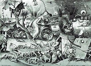 The Seven Deadly Sins or the Seven Vices (Pieter Bruegel) - Domingo com Limonada