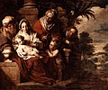 Pieter Jozef Verhaghen (attr.) - Holy Family with the infant St. John, St. Elizabeth and St. Zacharia.jpg