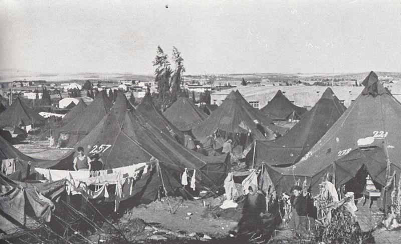 מחנה עולים בפרדס חנה