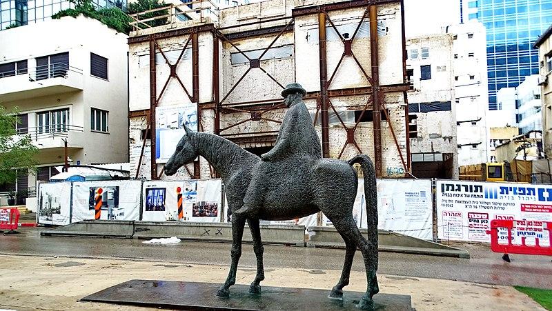פסל מאיר דיזנגוף