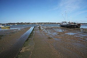Pin Mill - Pin Mill Hard and the Grindle – geograph.org.uk – 720586