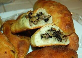 Pastry - Russian pirozhki