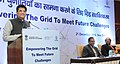 Piyush Goyal addressing at an event 'Empowering the Grid to meet Future Challenges', organised by the Power Grid Corporation of India Ltd. (PGCIL), under the Ministry of Power, in New Delhi.jpg