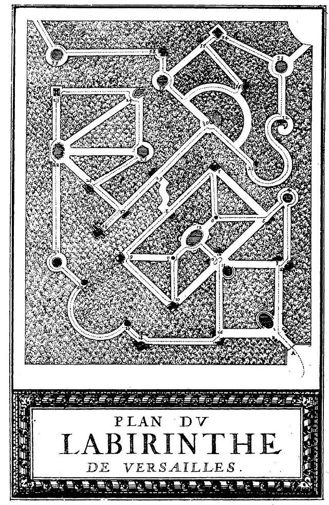 labyrinte de versailles ed1679 arts french edition