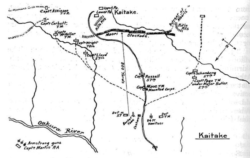 New Zealand Attack Video Wikipedia: File:Plan Of The Attack On Kaitake 1864.jpg