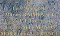 Plaque à Marius Raimbault (9 août 1944) à Saint-Sauveur-en-Puisaye.jpg