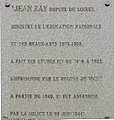 Plaque Jean Zay college Bailly.JPG