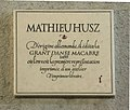 Plaque en hommage à Mathieu Husz à Lyon.JPG