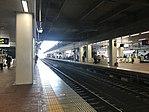 Platform of Hakata Station (local lines) 4.jpg