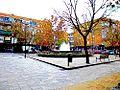 Plaza Trebol en barrio típico de los años 60 del siglo XX de San Fernando de Henares.jpg