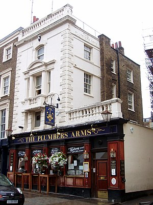 Lower Belgrave Street - The Plumbers Arms