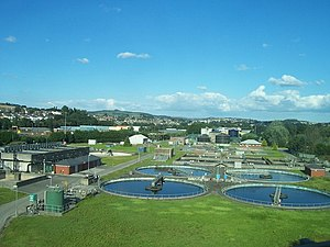 English: Plymouth : Plymouth Water Treatment P...