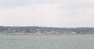Plymouth Harbor - Image: Plymouth MA from Plymouth Harbor