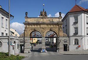 Pilsner Urquell Brewery - Plzeňský Prazdroj, main gate
