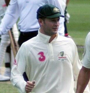 Michael Clarke (cricketer) Australian cricketer