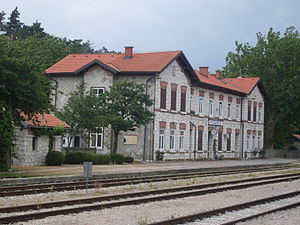 Podgorje-train station-from north.jpg