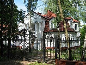 Podkowa Leśna - A villa in Podkowa Leśna