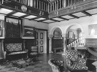 Polhøgda - Image: Polhoegda interior