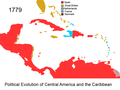 Political Evolution of Central America and the Caribbean 1779 na.png