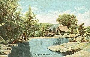 Newport, New Hampshire - Image: Pollards Mill, Newport, NH