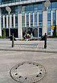 Pomnik ewakuacji bojowników getta warszawskiego w Warszawie 09.JPG