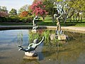 Pond in Front of floral show house, Niagara Falls, Ontario - panoramio.jpg