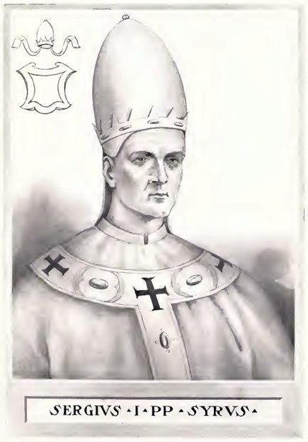 Pope Sergius I
