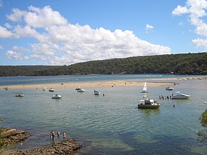 Port Hacking - Image: Port Hacking estuary 1
