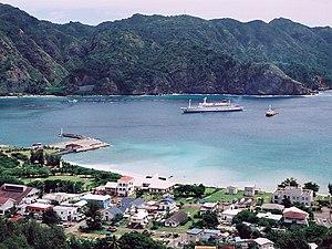 Ogasawara, Tokyo - Port of Futami, Chichi-jima