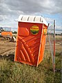 Portable toilet at Great Denham, Bedfordshire, England.jpg