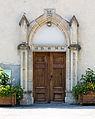 Portail de l'église Saint-Arey, Le Freney-d'Oisans, France.jpg