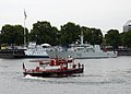 Portland fireboat David Campbell greets the HMCS Brandon - 180607-N-ZP059-029.jpg
