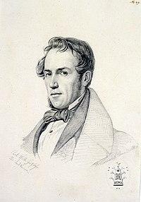 Porträt Carl Wilhelm Götzloff, gezeichnet von Benno Friedrich Törmer, Rom 15. Oktober 1835.jpg