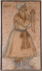 Portrait of Emperor Akbar Praying