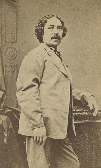 Sims Reeves - 1860's photograph of Reeves