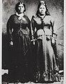 Portrait of Maxima Antonia Ynita and Maria Antonia Ynita about 1865.jpg