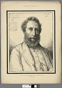 Portrait of The late Right Hon. Lord Lytton, G.C.M.G (4671637).jpg