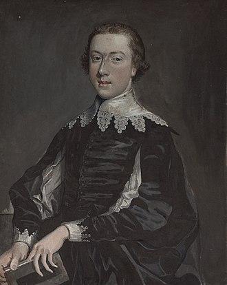 Thomas Pennant - A young Thomas Pennant, c.1740