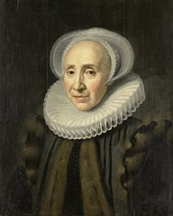 Portrait of Volckera Claesdr Knobbert (1554-1634)