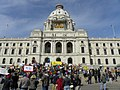 Potest against US wars at the Minnesota capitol. (5541814440).jpg
