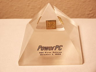 PowerPC 600 - The PowerPC 601 prototype reached first silicon in October 1992