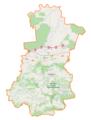 Powiat bocheński location map.png