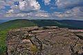 Prírodná pamiatka Sninský kameň - pohľad na Nežabec, CHKO Vihorlat (02).jpg