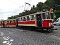 Průvod tramvají 2015, 13a - tramvaj 2239 a 1523.jpg