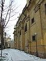 Praha, Malá strana, kostel Panny Marie vítězné, boční zeď.JPG