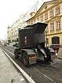 Praha, Nové Město, Národní, cisterna s asfaltem.JPG