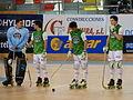 Presentacion HC Liceo, Pazo dos deportes Riazor, A Coruña, HC Liceo vs CP Vic 2.JPG
