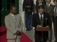 File:President's Reagan's Meetings with President Nimeiri of Sudan on November 21, 1983.webm