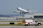 President Obama arrives at Kentucky Air Guard Base 150402-Z-VT419-314.jpg