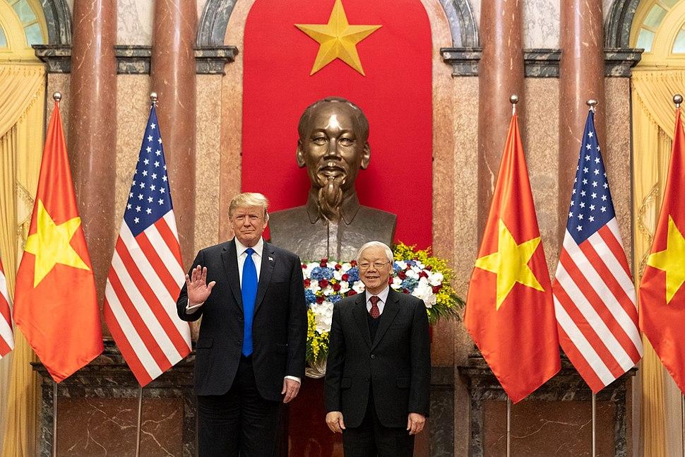 President Trump's Trip to Vietnam (33352865778)